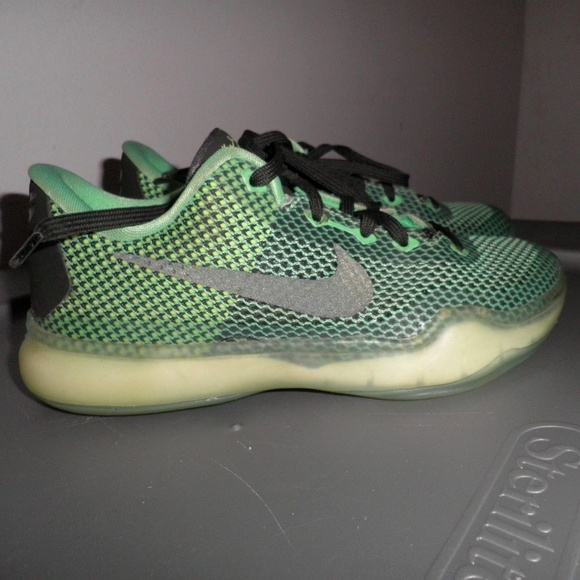 best loved a344f 52d21 ... promo code for nike kobe x 10 vino size 1 gs poison green sequoia aa784  be618